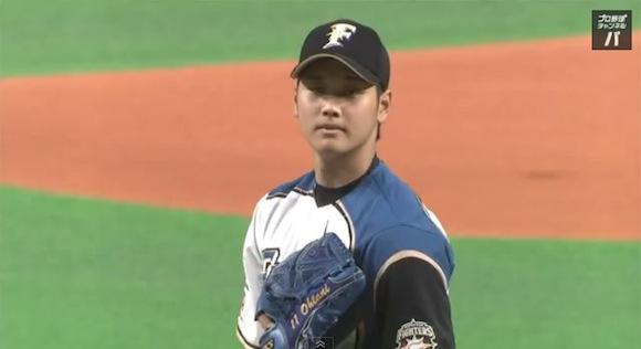 日本ハム 大谷翔平投手